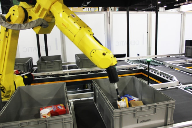 Dematic launches Robotics Center of Excellence.