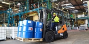 Chemical manufacturer selects Pyroban