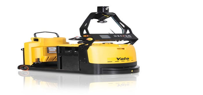 Yale Expands Driven by Balyo Robotic Lift Truck Lineup