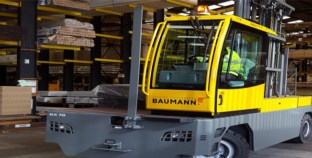 Baumann Trucks Tackle Tall Timber At Arnold Laver.