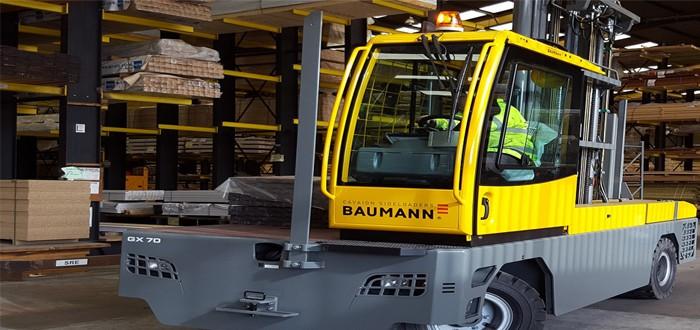 Baumann Trucks Tackle Tall Timber At Arnold Laver.
