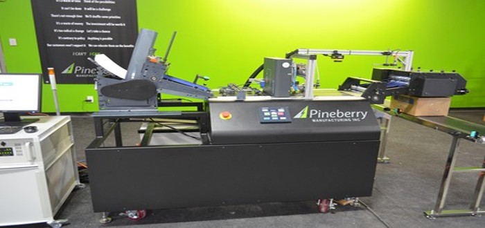 Huge interest at ProMat as Pineberry launch new products for packaging automation.
