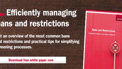 AEB releases new white paper with valuable tips for efficiently managing bans and restrictions.