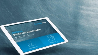 Monitor packaging lines on mobile devices using the new BEUMER app.