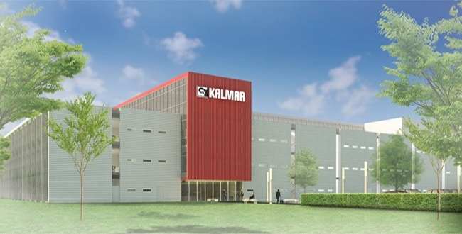 Kalmar celebrates ground breaking of its new facility in Ljungby, Sweden.