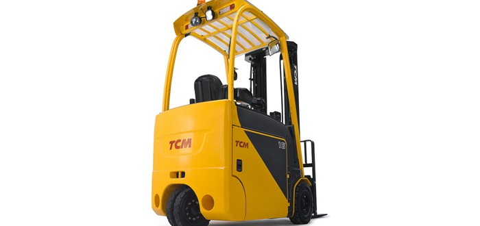 TCM launch its new, highly innovative forklift.