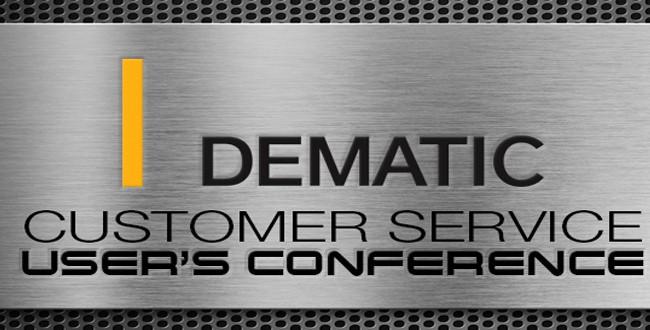 Dematic 2017 Customer Service User Conference.
