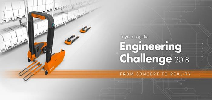 The 1st Toyota Logistic Engineering Challenge is now open.