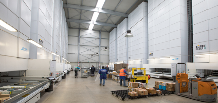 Why expand your warehouse if you don't have to? Modula Vertical Lift Module is the most cost effective storage solution?