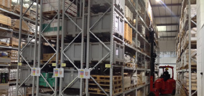 Revamped warehouse process is the right recipe for snack food giant.