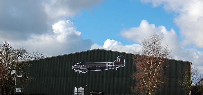Logistics company will bring iconic WW2 aircraft 'home'.