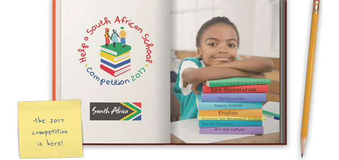 Myhermes supporting book campaign for underprivileged South African children.