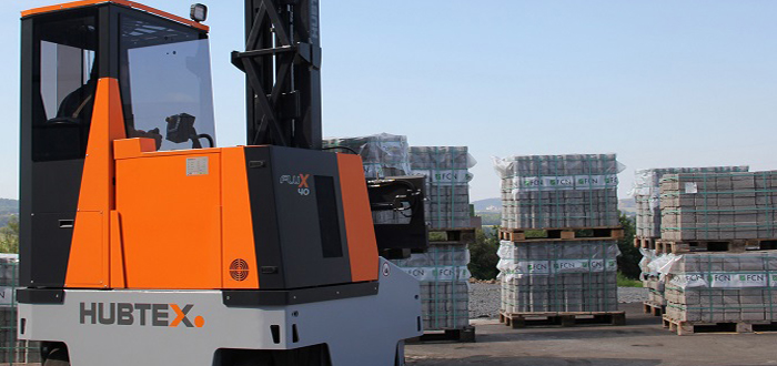 All set for Industry 4.0, multi directional forklift now available with remote maintenance.