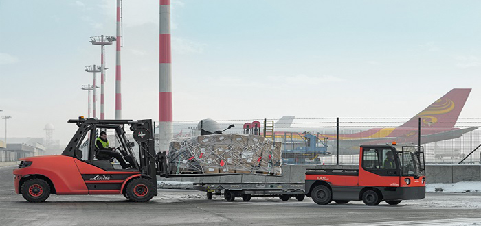 Linde presents comprehensive range of equipment for airport applications.