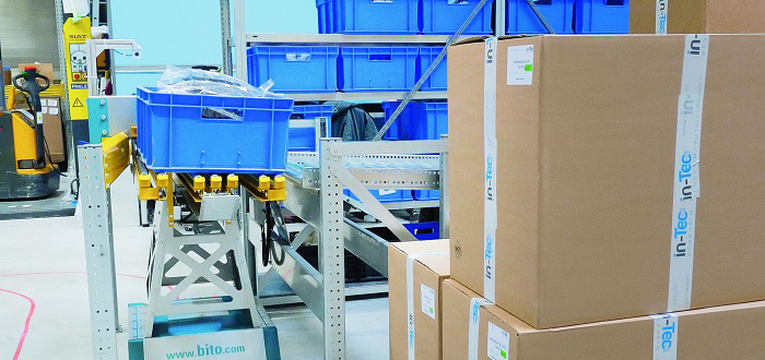BITO's LEO ready for productive intralogistics.