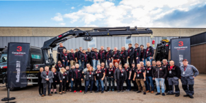 """Hiab's announces winning projects from its hackathon CargoHack3 """"Time for Elevation""""."""