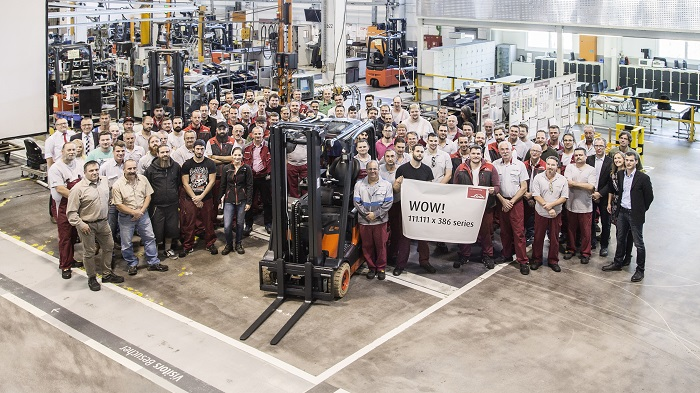 The most successful electric forklift truck in the world.