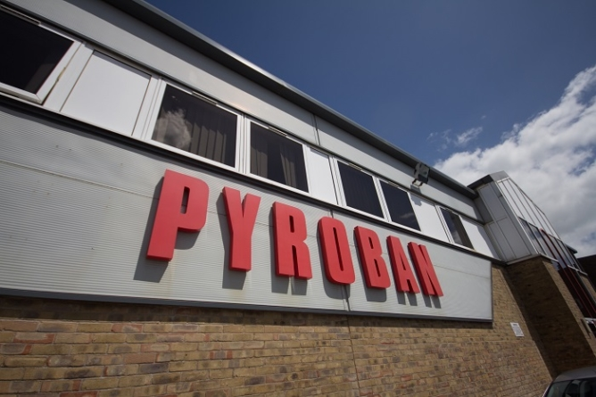 Pyroban invests in 2-year EN1755 change programme.