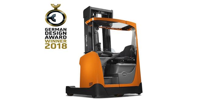 German Design Award 2018 for BT Reflex R-series reach truck.