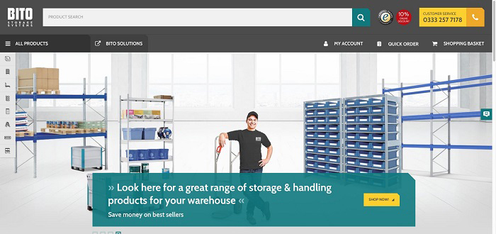 Welcome to the new online BITO Shop!