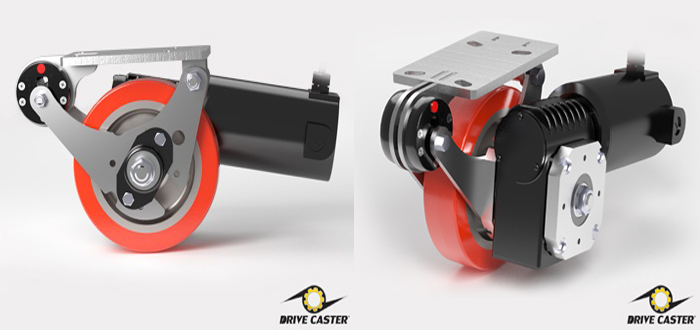 Caster Concepts' Popular Motor-Powered Caster Now Comes  Fully Equipped and Ready to Use.