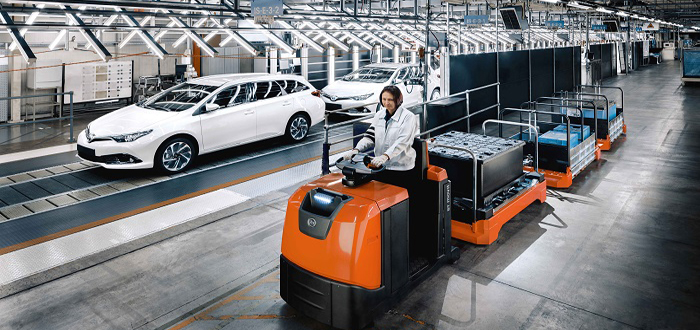 Toyota and the material handling industry launch student competition to engage with young talents.