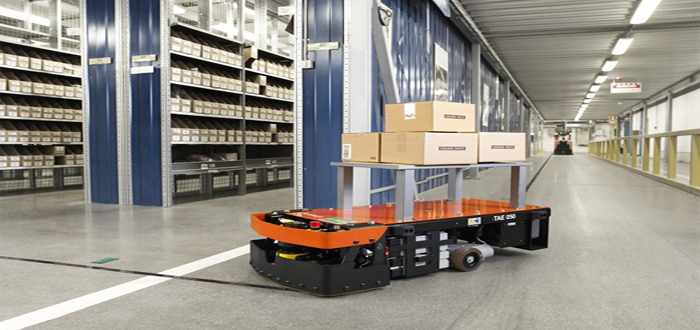 Smarter handling with lean automated trucks from Toyota.