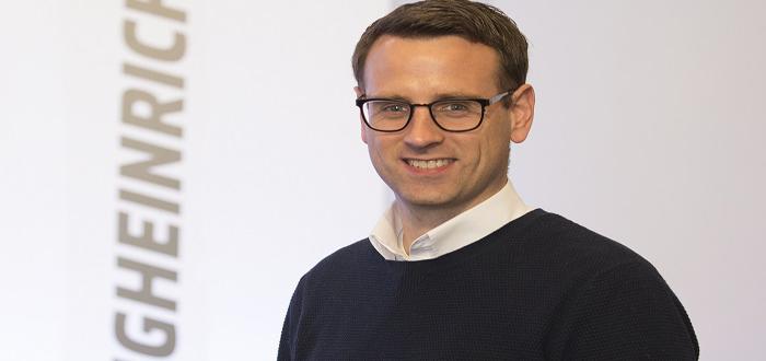 Jungheinrich UK welcomes new Managing Director.
