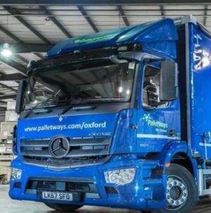 New Mercedes-Benz fleet stacks up for Palletways.
