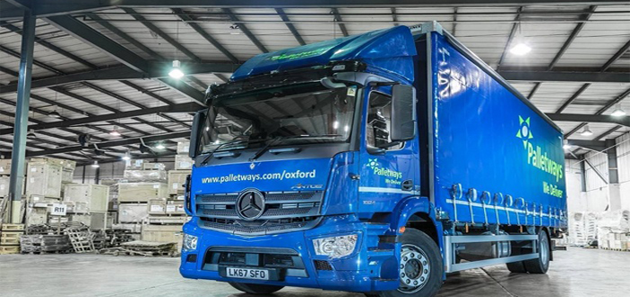 New Mercedes-Benz fleet stacks up for Palletways.