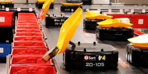 Tompkins Robotics' t-Sort: Revolutionizing Unit and Parcel Sortation.