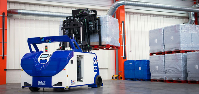 BA Systèmes announces the launching of a new high performance AGV.