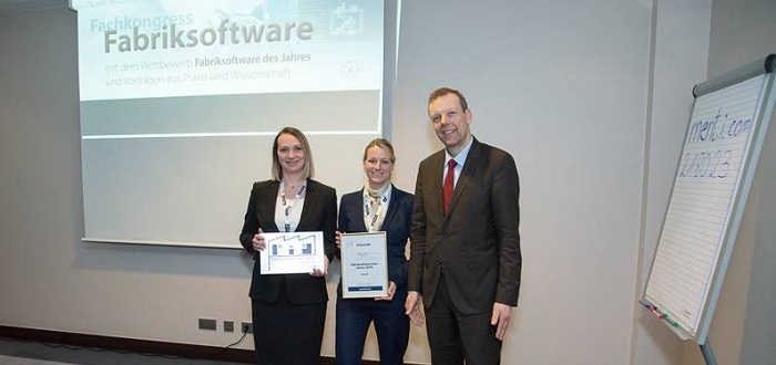 "Jungheinrich WMS named ""Best Factory Software 2018""."