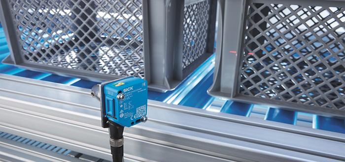 SICK Next-Generation Photoelectric Sensors Pilot the Future of Logistics Sensing.