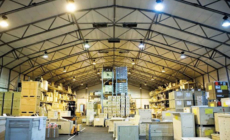 Cost effective alternative warehouse solutions at Breakbulk 2018.