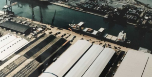 Buildings evolve with port's changing needs.