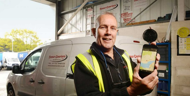 Transport Management Technology drives down courier's costs.