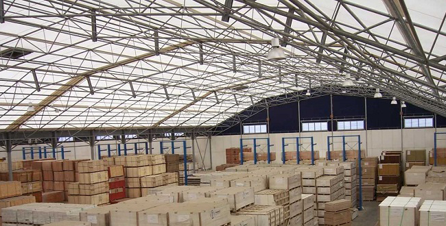 Supporting the storage and processing of freight throughout UK ports