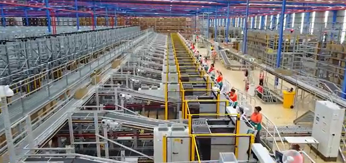 Dematic Announces Fully Automated Distribution Center With A Focus On E-Commerce And Omnichanel Delivery.