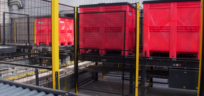 GA Pet Food Partners Delighted With Large-Scale Plastic Pallet Box Delivery For Automated Facility.