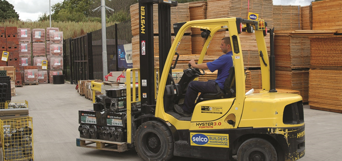 Handling The Tough Wood Supply Chain.