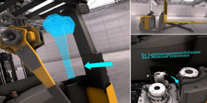 Jungheinrich virtual reality training provides immersive learning experience for engineers.