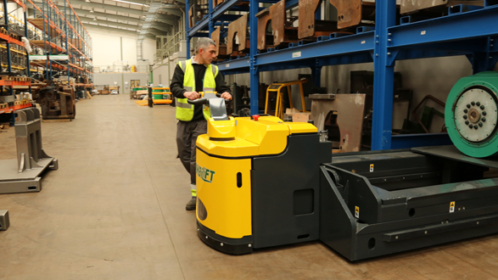 Combilift Launches The Combi-PPT: A High Capacity Powered Pallet Truck.