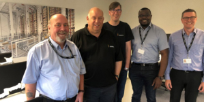 Dematic's MU Engineering Team moves to Wellingborough.