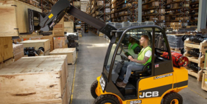 JCB Teletruk improves both operational efficiency and mood of construction company employees.