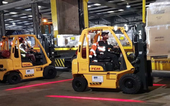 FUEL SAVINGS AND SMARTER WORKING FOR FORKLIFT FLEET.