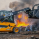 JCB's Teletruk joins the front line at Staffordshire Fire and Rescue