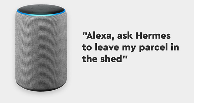Hermes rolls out updated Alexa features to provide greater control and convenience for customers