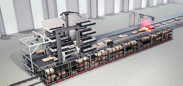 Dematic PackMyRide: The World's First Fully Automated Parcel Loading Solution Concept for the Last Mile