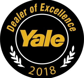 Yale Honors Industry-Leading Partners with 2018 Dealer of Excellence Award